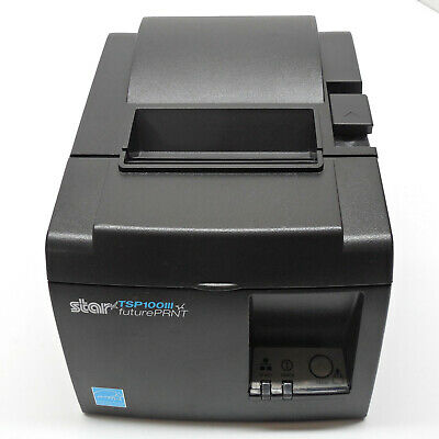 Star Tsp100iii Thermal Receipt Printer Pos Ethernet Autocutter