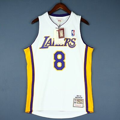7c4d702c003 100% Authentic Kobe Bryant Mitchell Ness 03 04 Lakers NBA Jersey Mens Size  36 S