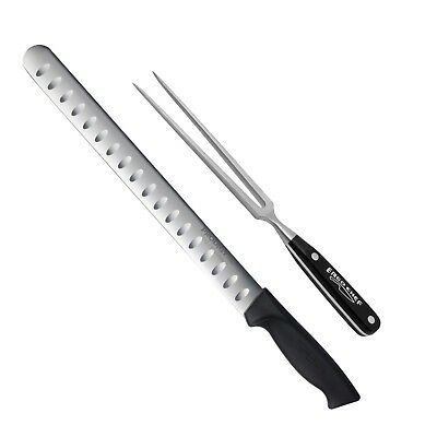 2 Piece Carving Set 12 Inch Prodigy Slicer Carving Knife And Pro-series Fork