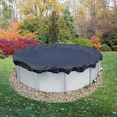 Above-Ground Pool Winter Cover 18-ft Round 8-Year | ArcticPlex