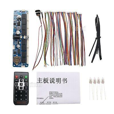Nixie Tube Board 6-digitremote Control Nixie Clock Diy Kit For In12 In14 In18
