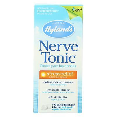 Hylands Homeopathic Nerve Tonic Tablets - 500 Tablets Hylands Homeopathic Nerve Tonic