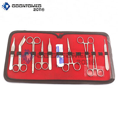 Odm Basic Dissecting Kit Veterinary Surgical Instruments Ds-1288