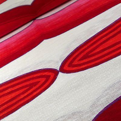Lounge Stoff 70er Meterware fabric vintage Gardine Vorhang Pop Art retro 1845