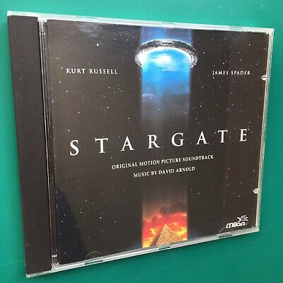 David Arnold STARGATE Film Soundtrack Score CD Kurt Russell James Spader Giza 94