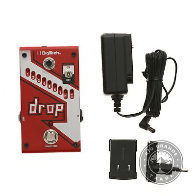 PARTS ONLY DigiTech DROP Compact Polyphonic Drop Tune Pitch-Shifter In Red - $145.00