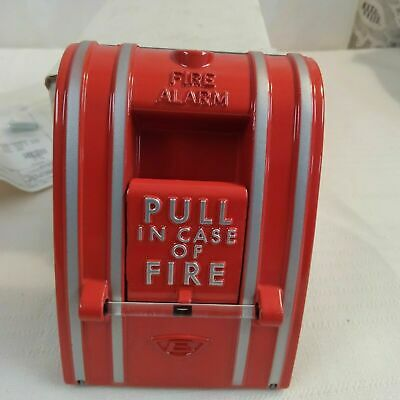 Edwards Fire Alarm Station 270-spo Red Metal Pull New In Box