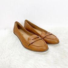 American Eagle 8.5 Womens Tan Penny Loafer Flats   eBay