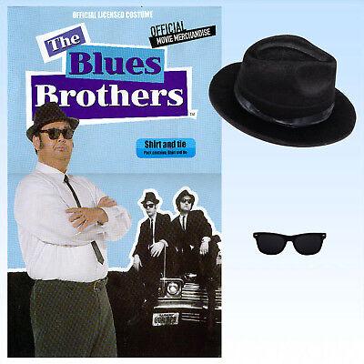 Blues Brothers Kostüm Gr. M  4 teilig  Kostüm Fasching Karneval VIP - Blues Brothers Kostüm
