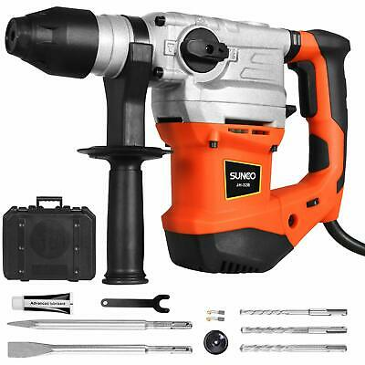 Sds-plus Rotary Hammer Drill 13.2 Amp Demolition Hammer With 4400bpm