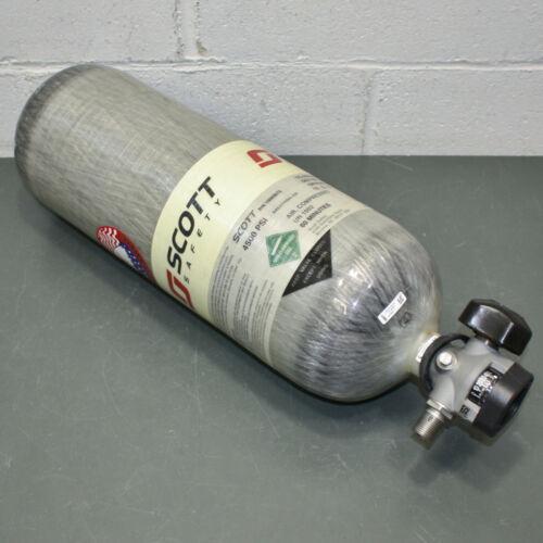 Scott SCBA Air Cylinder 200130-01, 60 Minute 4500 PSI Carbon Wrap Tank, MFR 2015