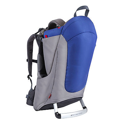 Phil & Teds Metro Backpack Carrier - Blue/Charcoal - New! Free Shipping!