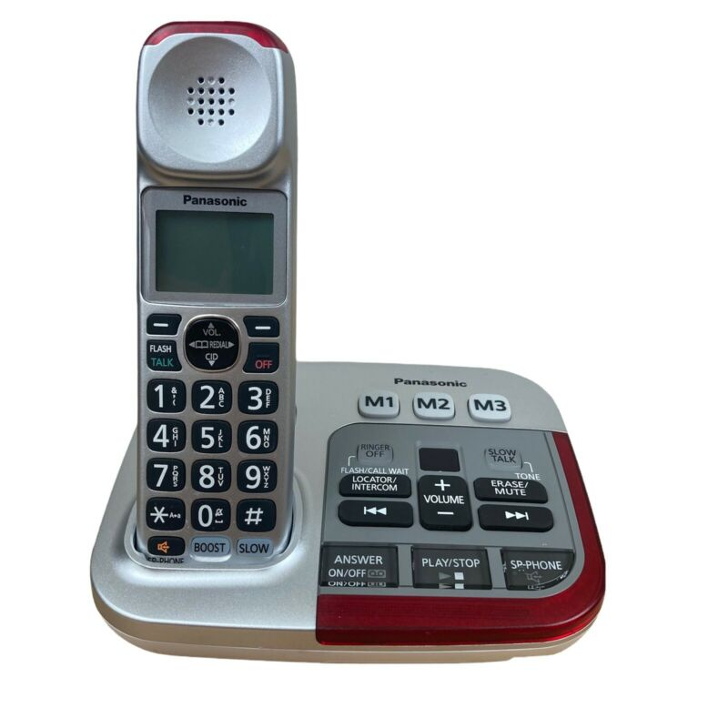 Panasonic KX-TGM450S Amplified Phone - Excellent Condition - Tested