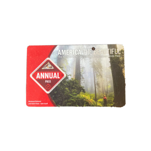America The Beautiful National Parks Annual Pass Expires May 2022 - $40.00