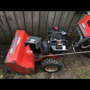Good working Norma snowblower with electric start