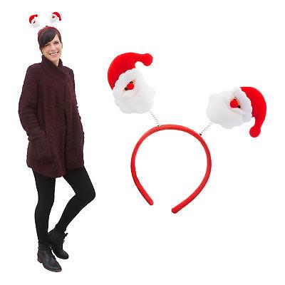 Mann Haar (Weihnachtsmann Haarreifen Weihnachten Weihnachtsfeier Weihnachtsdeko)