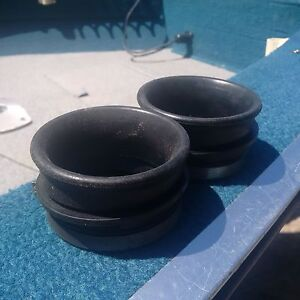 OEM 508-000-092-3 Skidoo/Bombardier Carburator Boots (two)