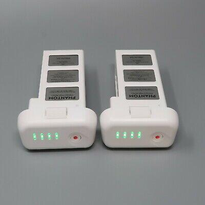 2 OEM Frank DJI Phantom 3 Intelligent Flight Battery - 15 & 18 CHARGES