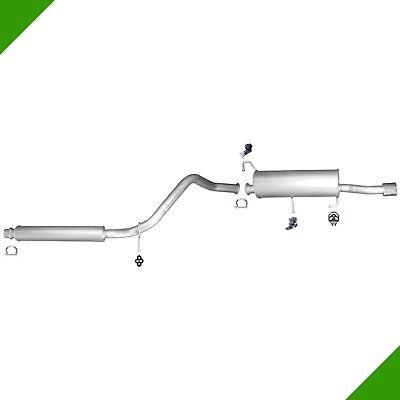 Montagesatz Peugeot 307 CC 2.0 Auspuffanlage Auspuff Endtopf Mitteltopf