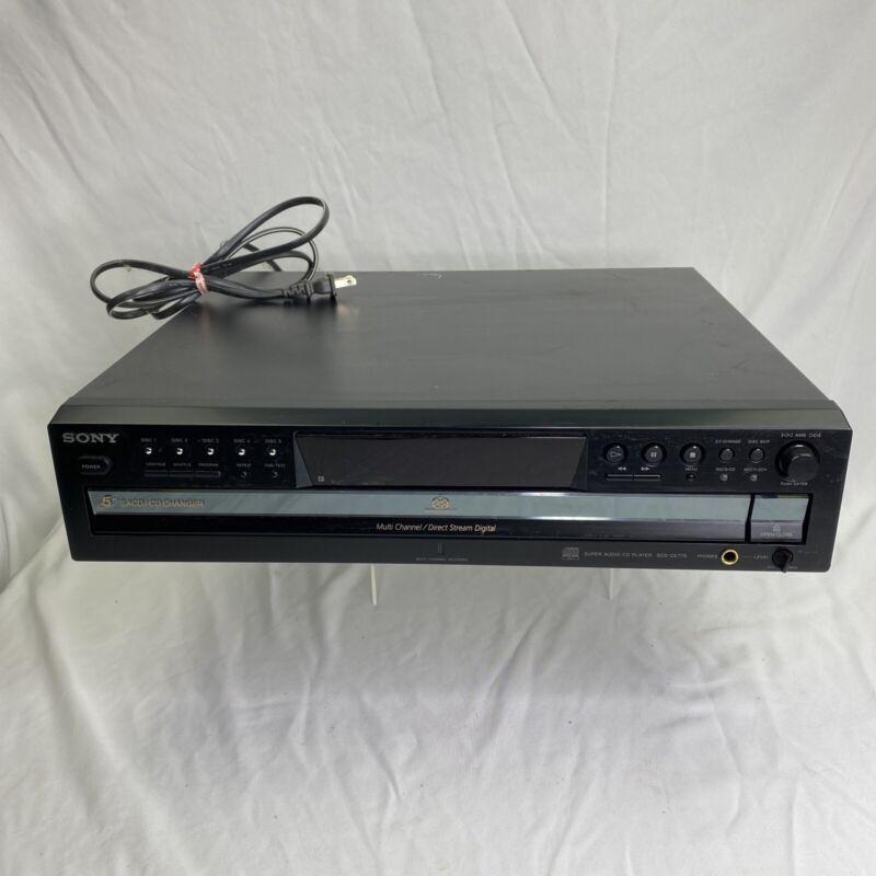 Sony SCD-CE775 5 Disc CD & SACD Changer & Transport - NICE!