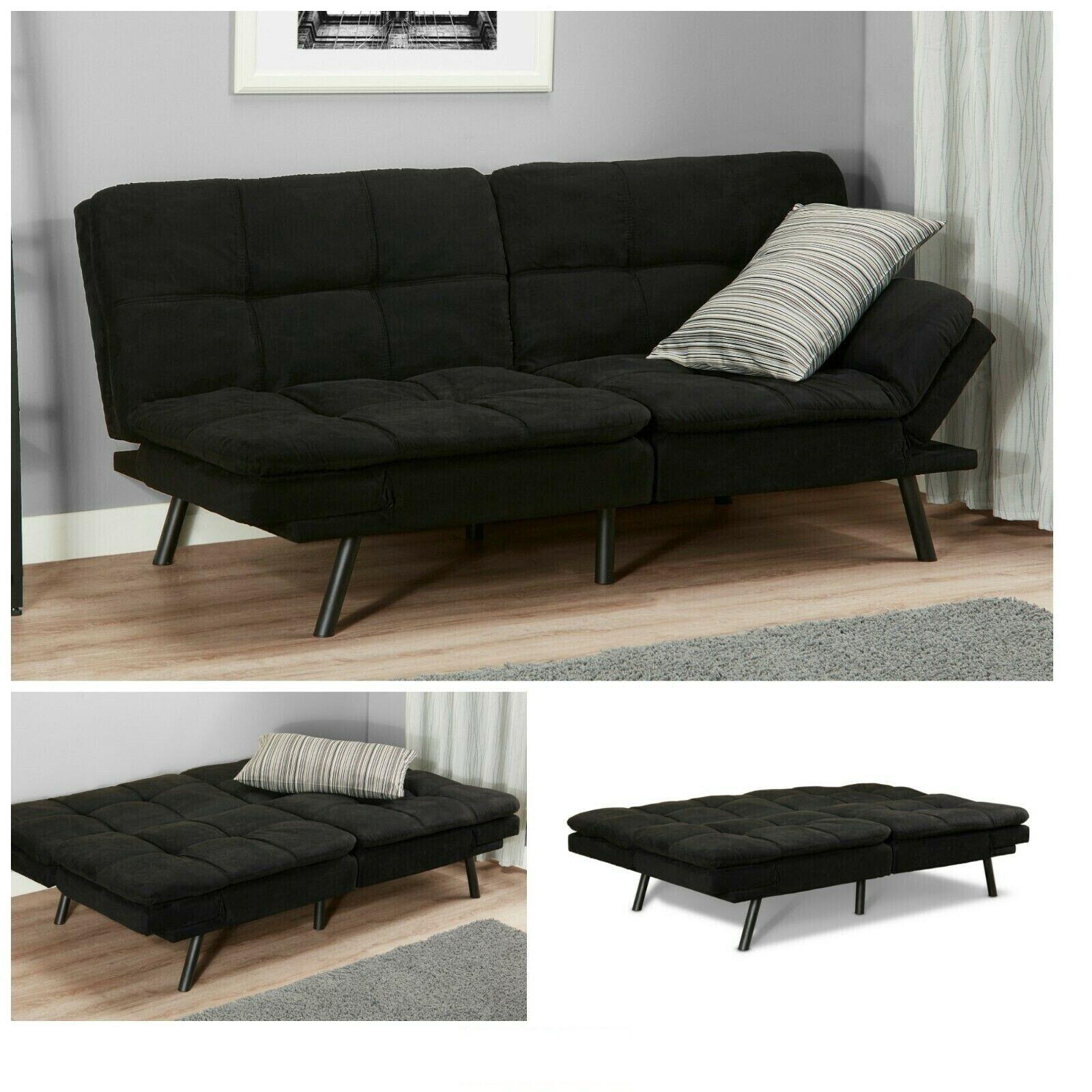 Picture of: Ikea Balkarp Black Sleeper Sofa For Sale Online Ebay
