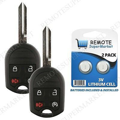 Replacement for Ford 11-16 F 150 250 350 450 11-15 Explorer Remote Key Fob Pair