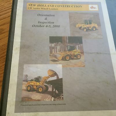New Holland Lw Series Wheel Loader Service Training Information Manual Guide