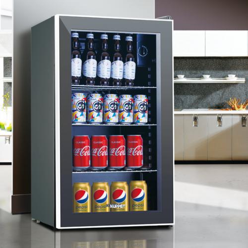 3.1 Cu.Ft. Beverage Soda Beer Bar Mini Fridge Cooler Stainle