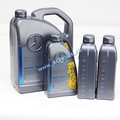 8L Orig. Mercedes Synthetic Motoröl Ölservice 5W40 MB 229.5 A00098983701 8 Liter