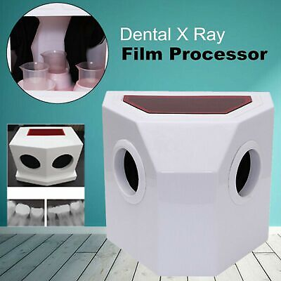 High End Dental X Ray Film Processor Developer Manual Wash Darkroom Box Hn-06