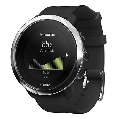 Suunto 3 Fitness Watch Black Athletic Design