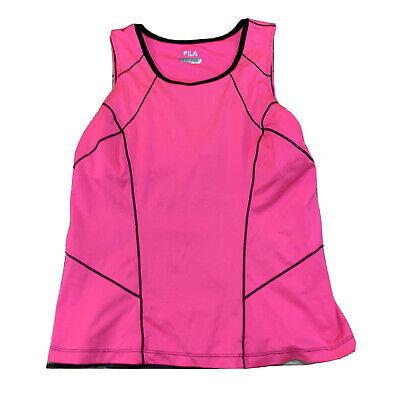 Fila Womens Tank Top Bra Top Size Medium Pink Womens L107