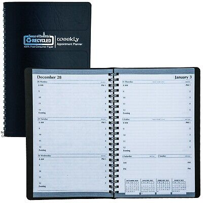 2021 278-02 Hod27802 House Of Doolittle Weekly Appointment Planner 5 X 8