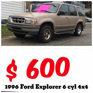 Ford Explorer 4x4 truck suv $600