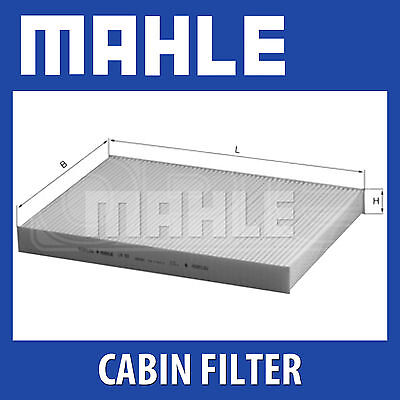 Mahle Pollen Air Filter - For Cabin Filter LA93 - Fits Audi A4