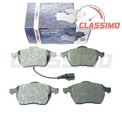 Front Brake Pads for AUDI A3 S3 Mk 1 8L + TT Mk 1 8N - 1996 to 2005
