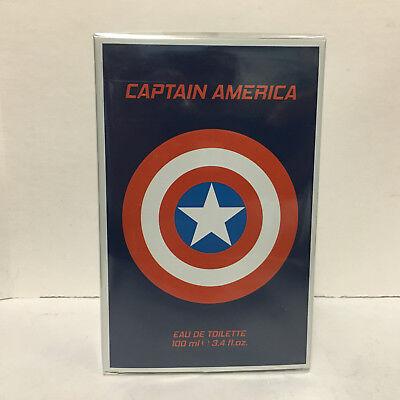 Captain America Cologne by Marvel, 3.4 oz Eau De Toilette Spray for Men  America Eau De Toilette Spray