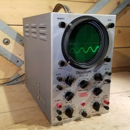 EICO Oscilloscope Model 460 DC Wide Band   Swanky Barn