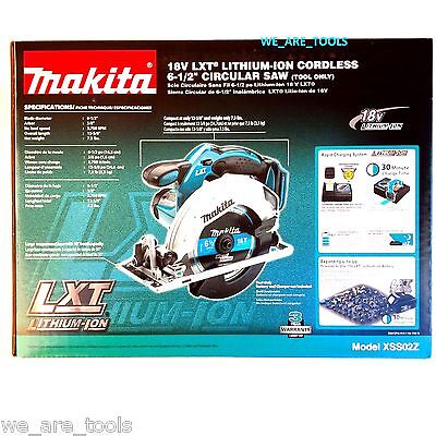 NEW IN BOX Makita XSS02Z Cordless Circular Saw 18 Volt W/ Blade 18V LXT 6 1/2