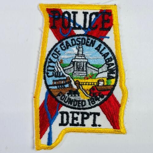 Gadsden Police Etowah County Alabama AL Patch (A2)