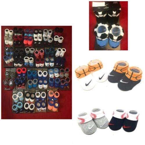 Nike Air Jordan Booties Crib Shoes Socks Baby Boy Girl Newbo