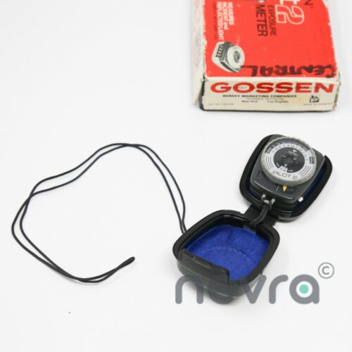 Gossen Pilot 2 Exposure Light Meter Complete with Hard Carry Case & Instructions