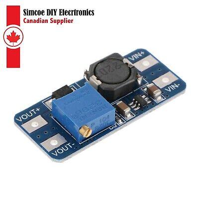 Mt3608 Dc-dc Booster Voltage Power Supply Module 2v-24v To 5v-28v 2a 1942
