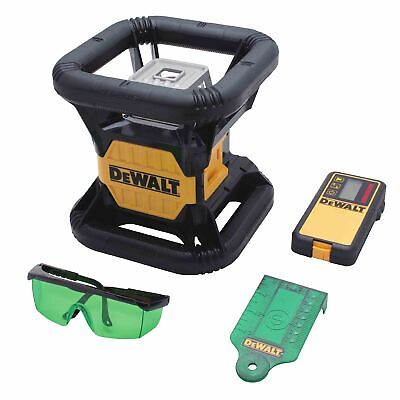 Dewalt Dw079lg 20v Max Li-ion Green Beam Rotary Tough Laser Ip67 2000ft. Range