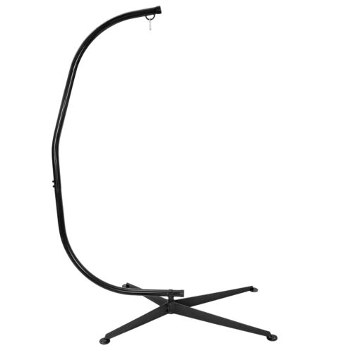 Heavy Duty Steel Hammock C Stand Solid Frame Stand for Porch