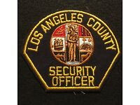1//6 modern US Los Angeles County Sheriff Department patch set lot