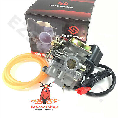 19MM HIGH PERFORMANCE CARBURETOR 50-90cc GY6 CHINESE 4T SCOOTER MOPED ZNEN JCL