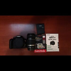Canon EOS Rebel T3 + Canon EFS 55-250mm lenses + Accessories !