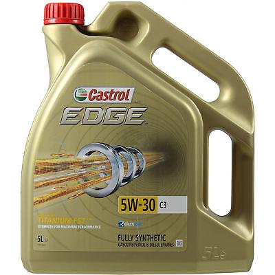 5 Liter Original Castrol EDGE Titanium FST 5W-30 Motoröl Motorenöl Engine Oil comprar usado  Enviando para Brazil