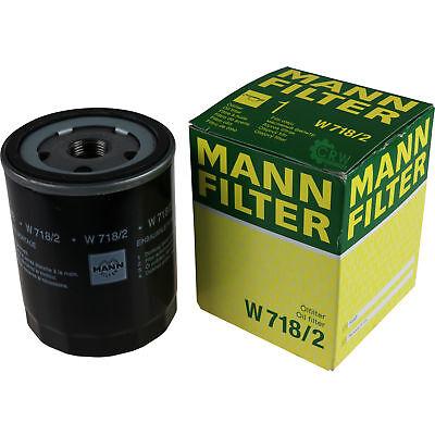 Original MANN-FILTER Ölfilter Oelfilter W 718/2 Oil Filter 2022 Flat Panel